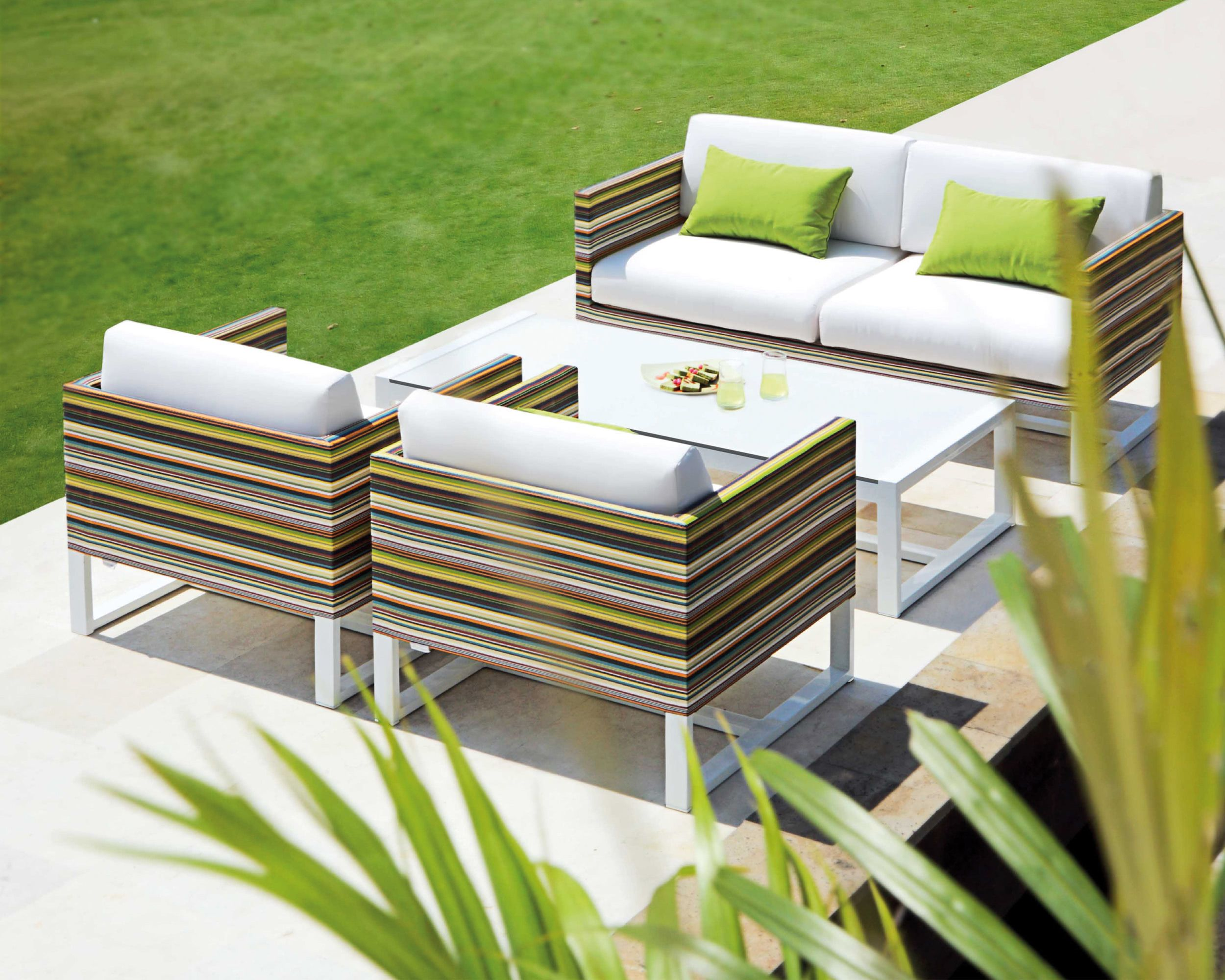 Lounge-Garnitur Stripe