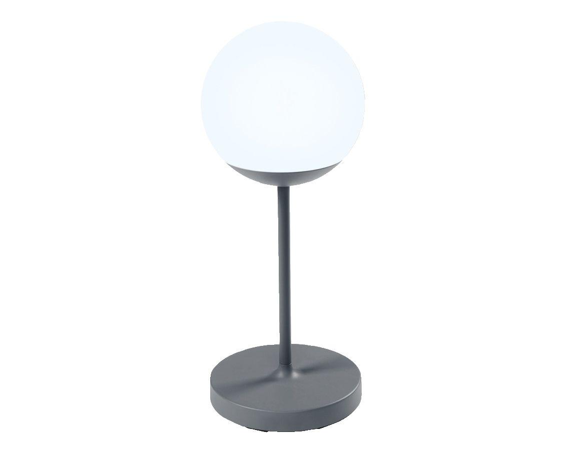 Akku LED Gartenleuchte Moon 63 cm