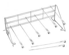 Weber® Edelstahlrost und Spieß-Set