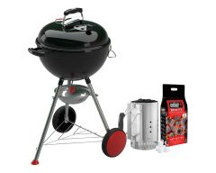 Weber® Holzkohlegriller Kettle Plus, 47 cm, black