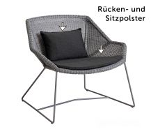 Polster-Set Loungesessel Finley nieder