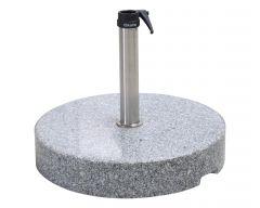 Granitständer, 90 kg, Edelstahlrohr - AKTION