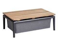 Tisch Life, mit Ablage, 52 x 74 cm (H=30)