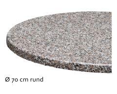 Tischplatte Topalit, Ø70cm