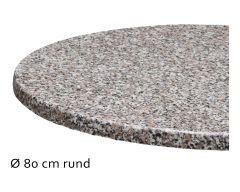 Tischplatte Topalit, Ø80cm