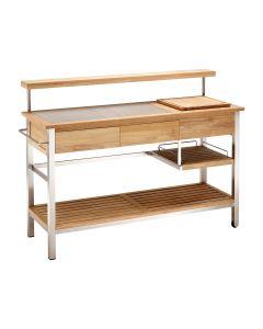 Blaha Gartenmöbel - Küchenwagen, Sideboard Xina mit Bar-Aufsatz (AC-SP4097)