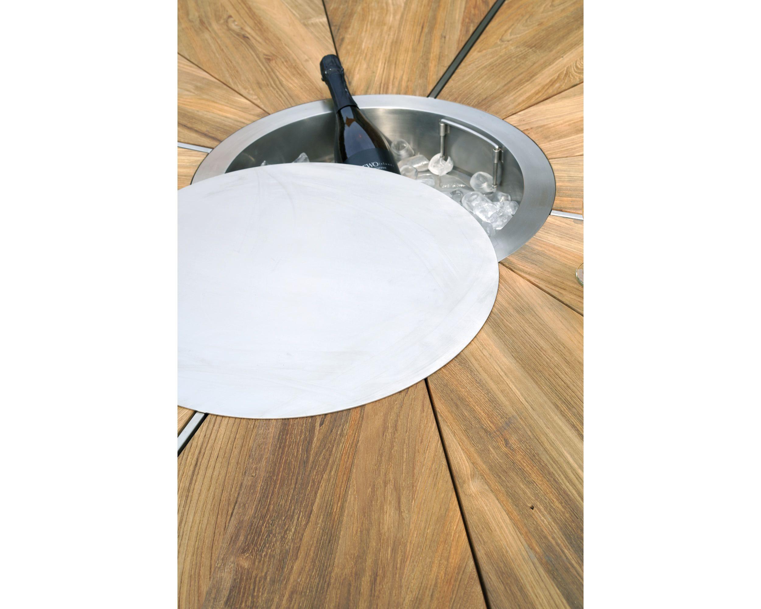 Eisfach/Sektkühler für Tisch Board Ø160cm