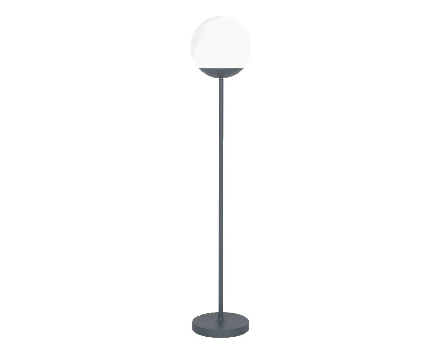 Akku LED Gartenleuchte Moon 134 cm