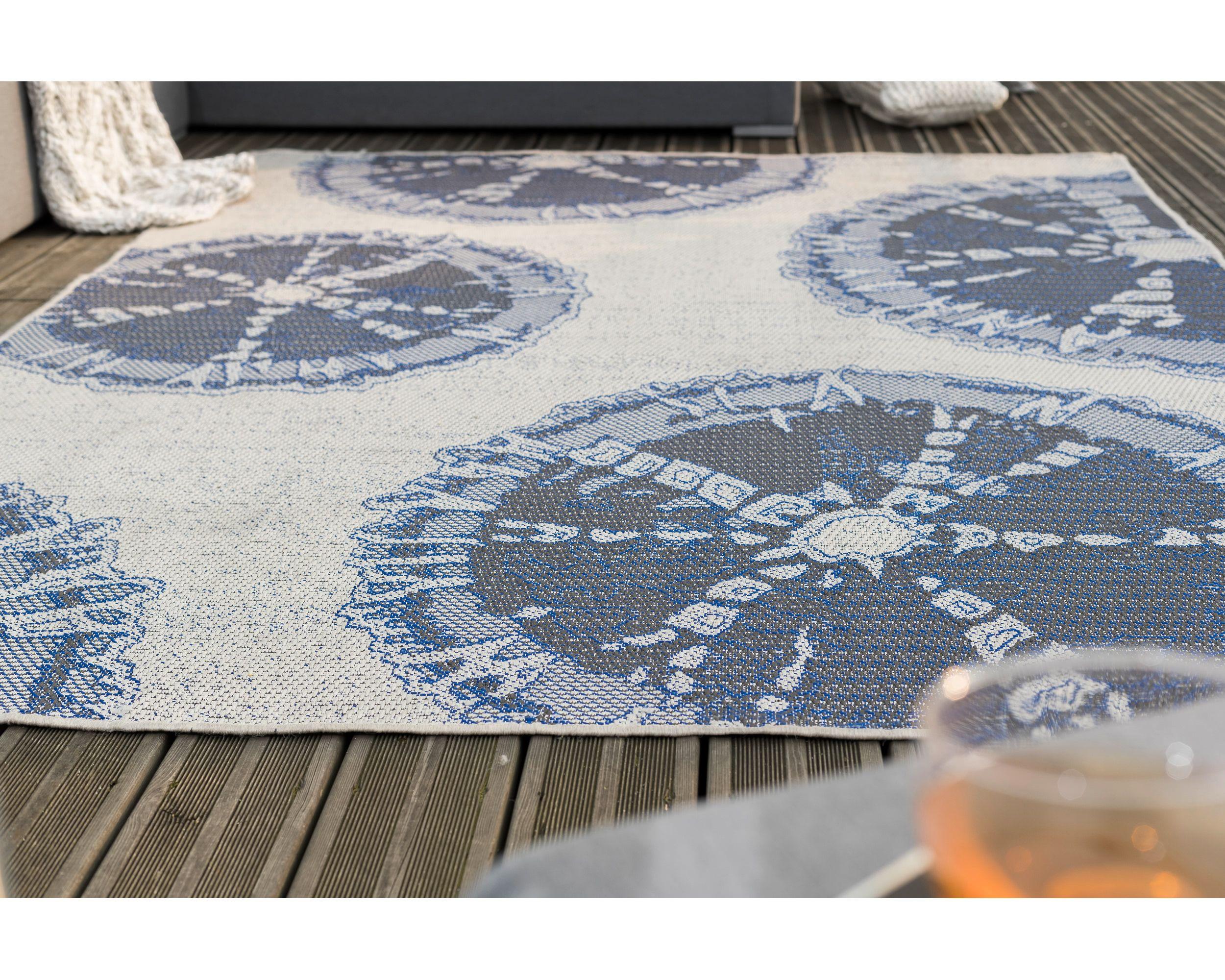 Outdoor-Teppich Felicia 200x265cm