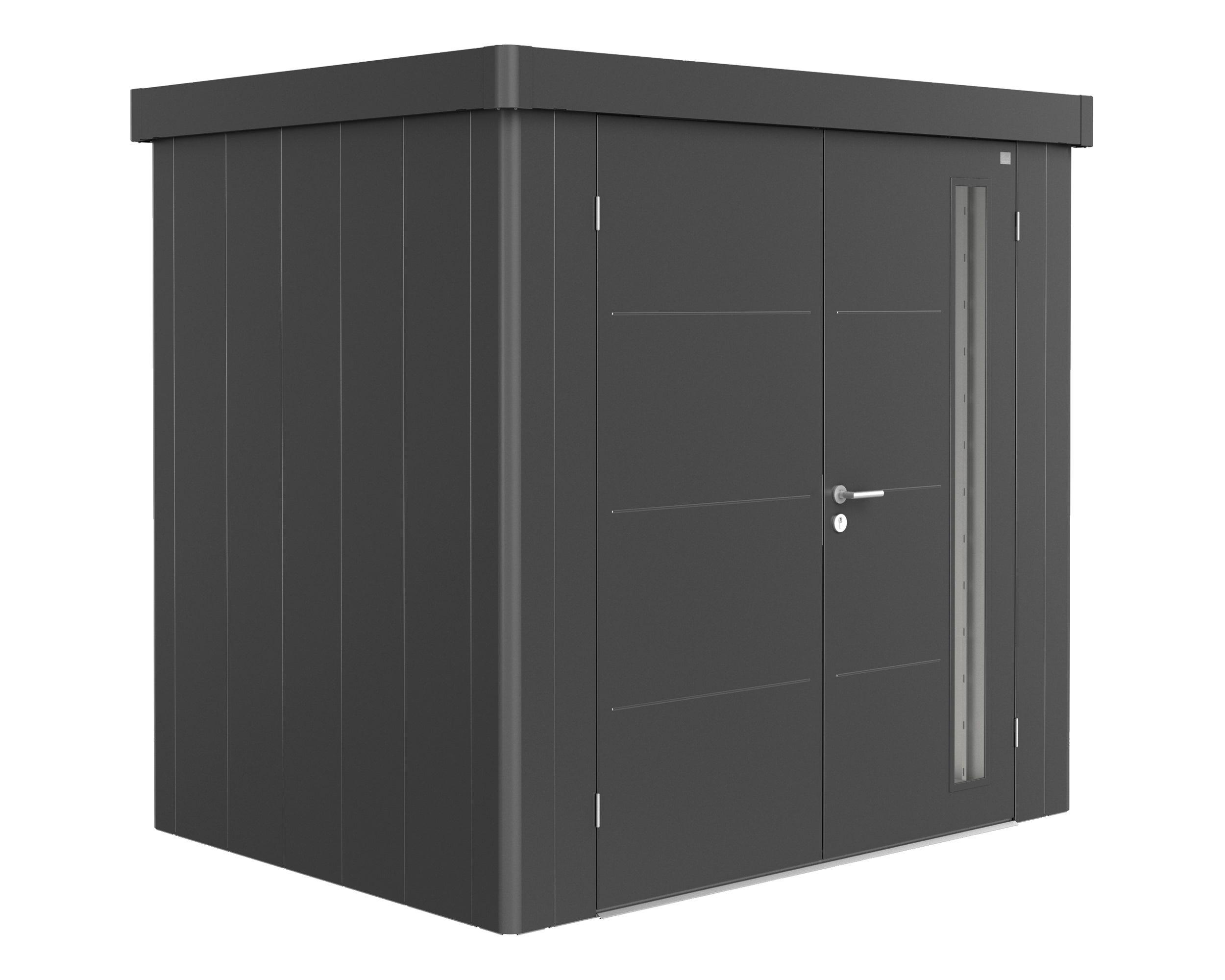 Gerätehaus Neo, 1B, 236x180 cm, Doppeltüre