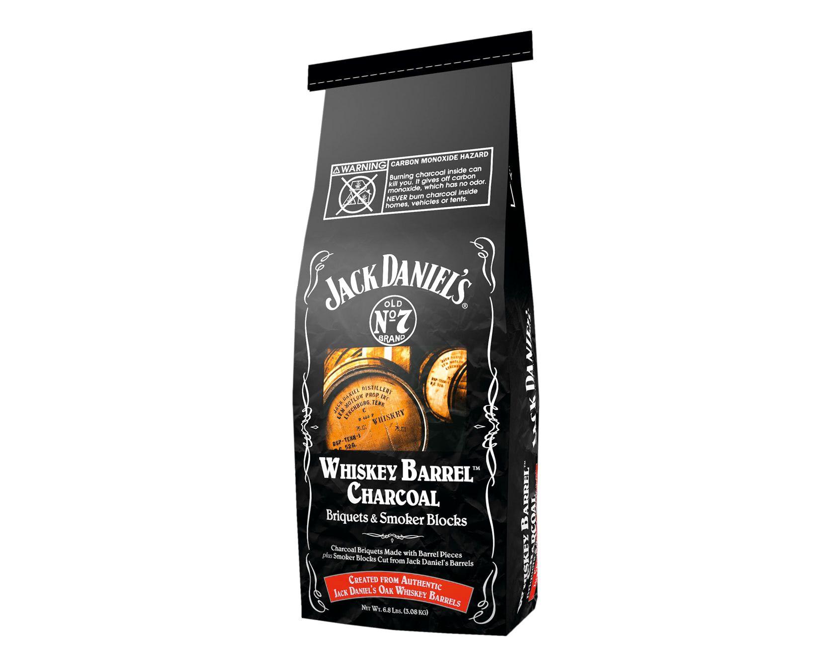 Jack Daniel's Whiskey Barrel Charcoal, 3 kg