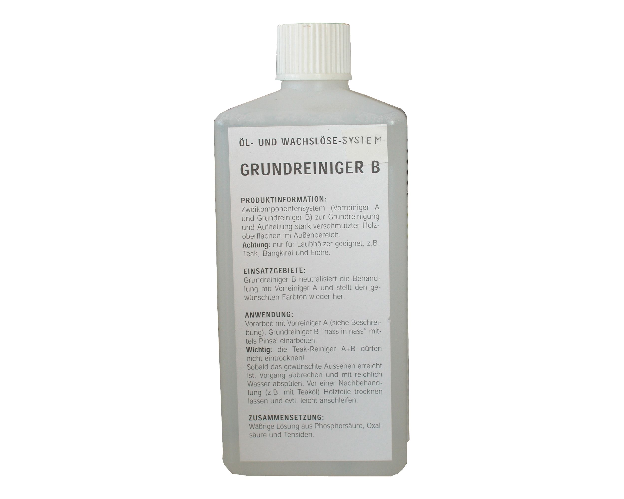 Grundreiniger B, 0,5 l
