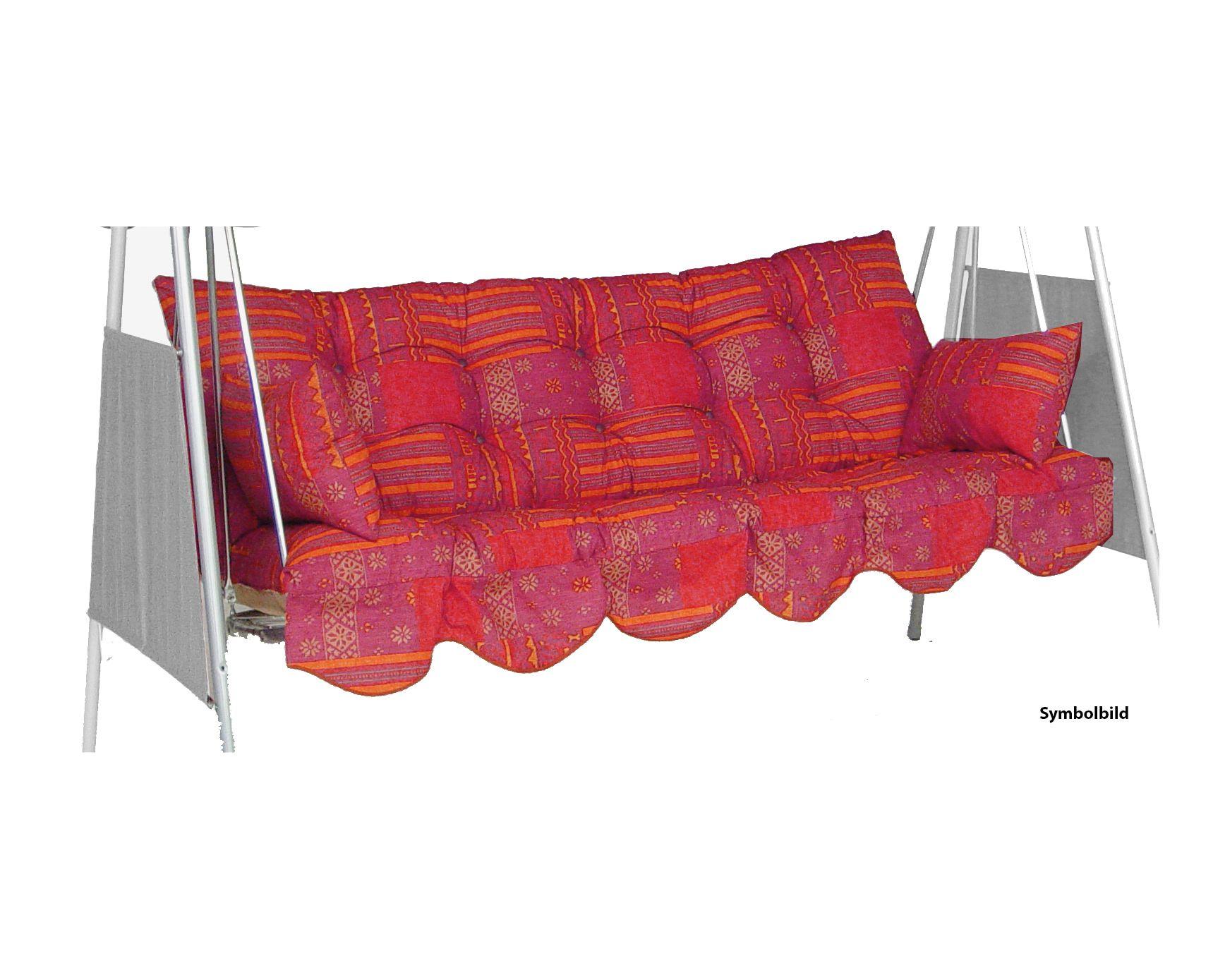 Flockenpolster für Schaukel 20 (3-Sitzer)