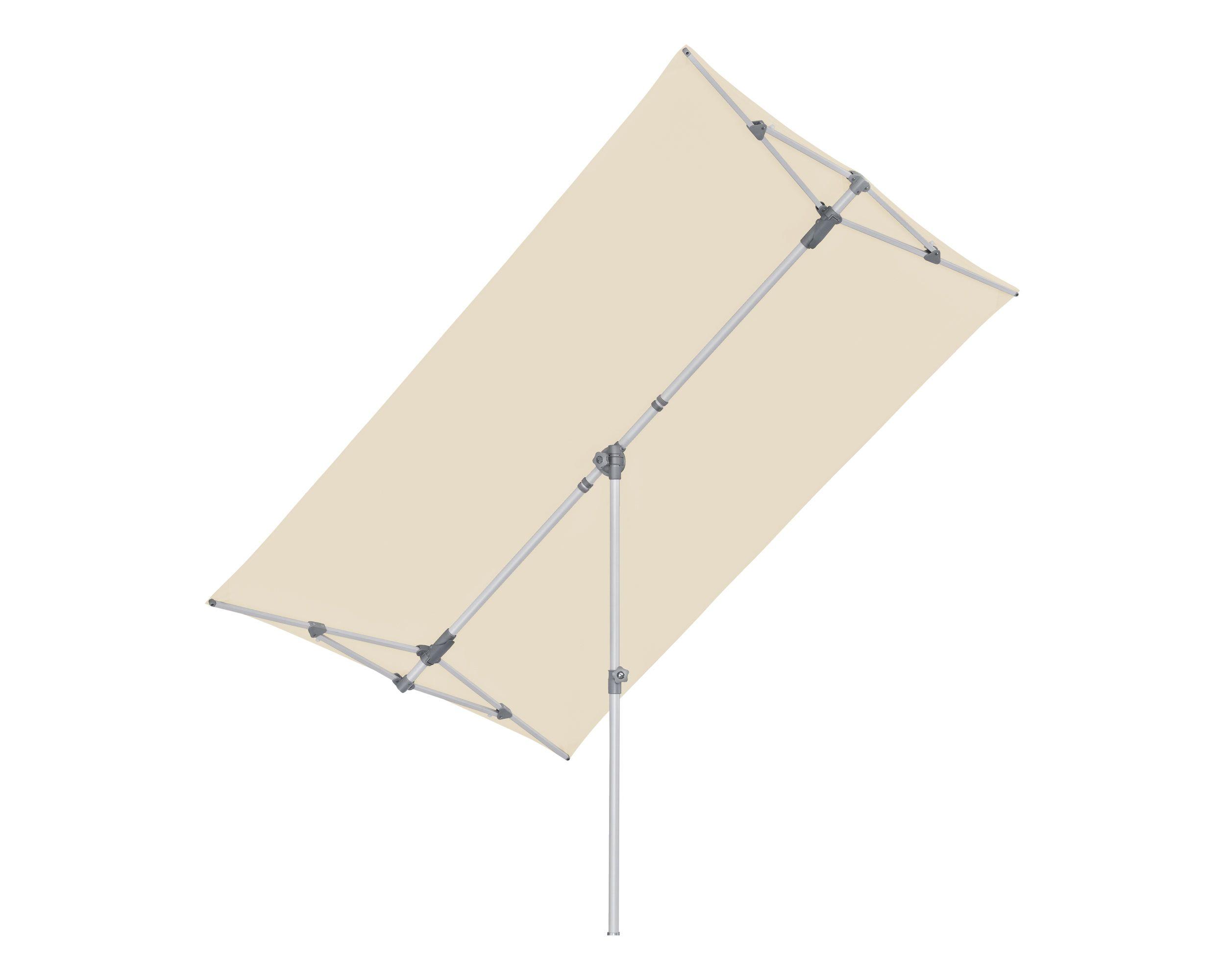 Sonnenschirm Flex-Roof, 150x210 cm