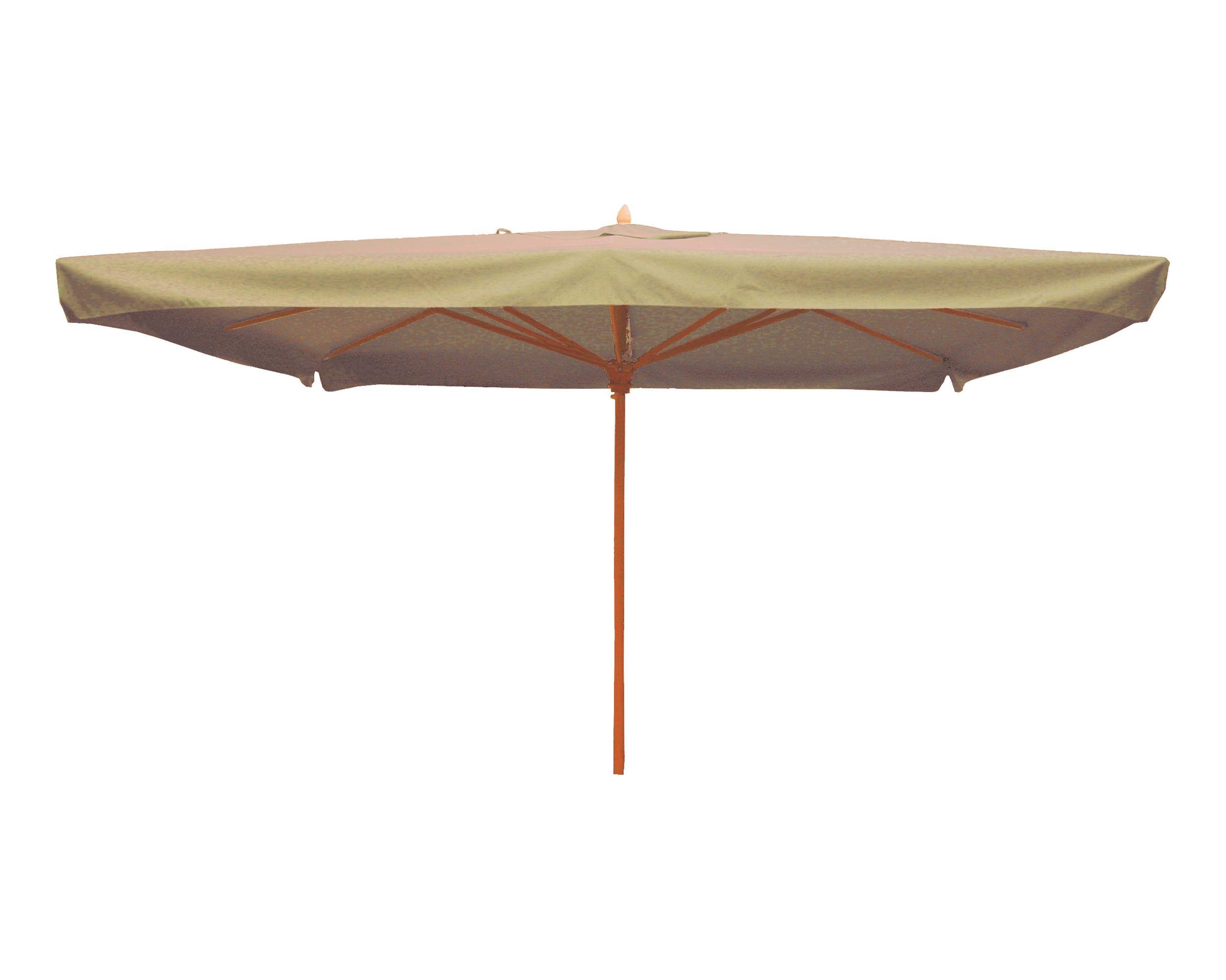 Holzstockschirm Elite, 300x400cm