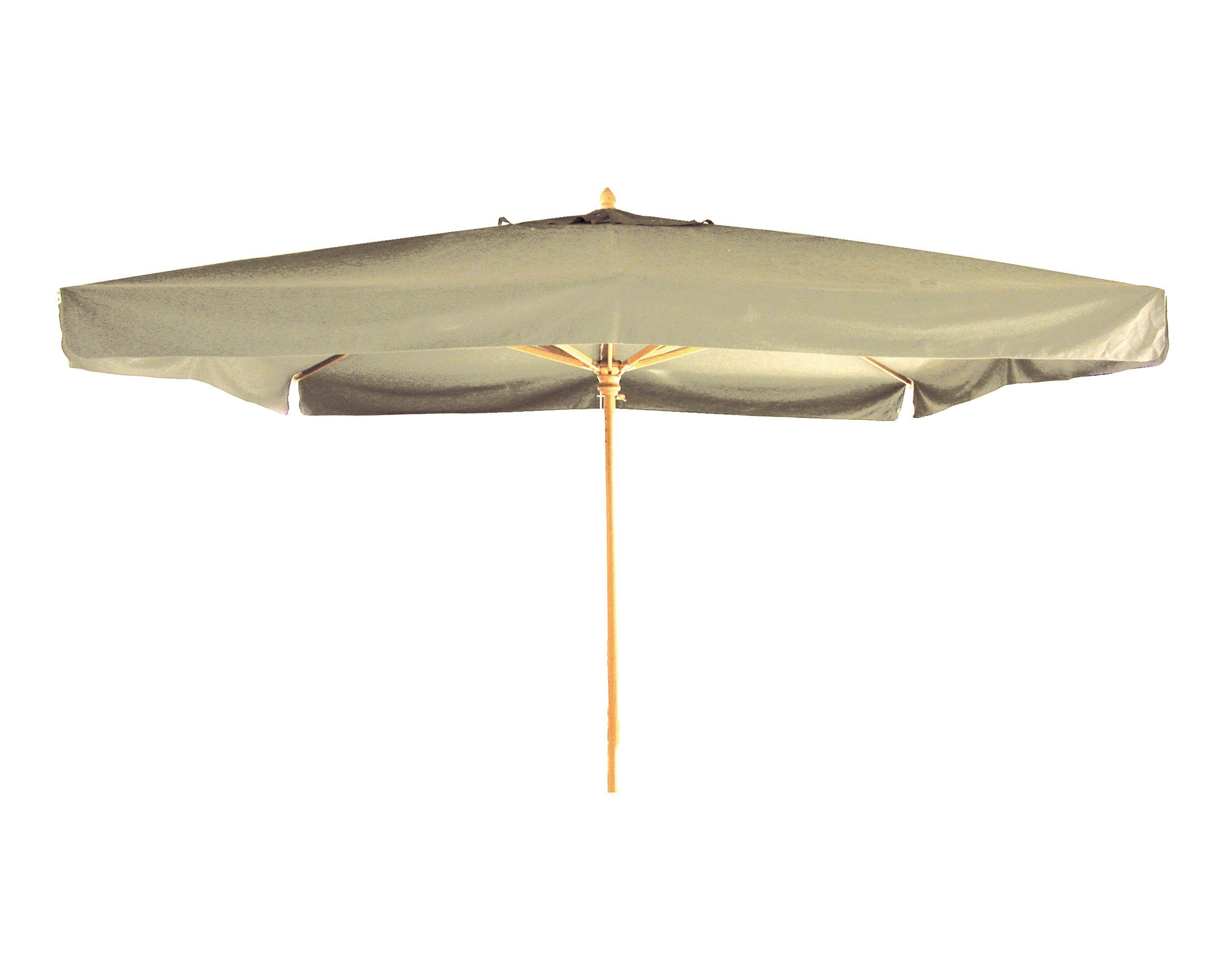 Holzstockschirm Elite, 400x400cm