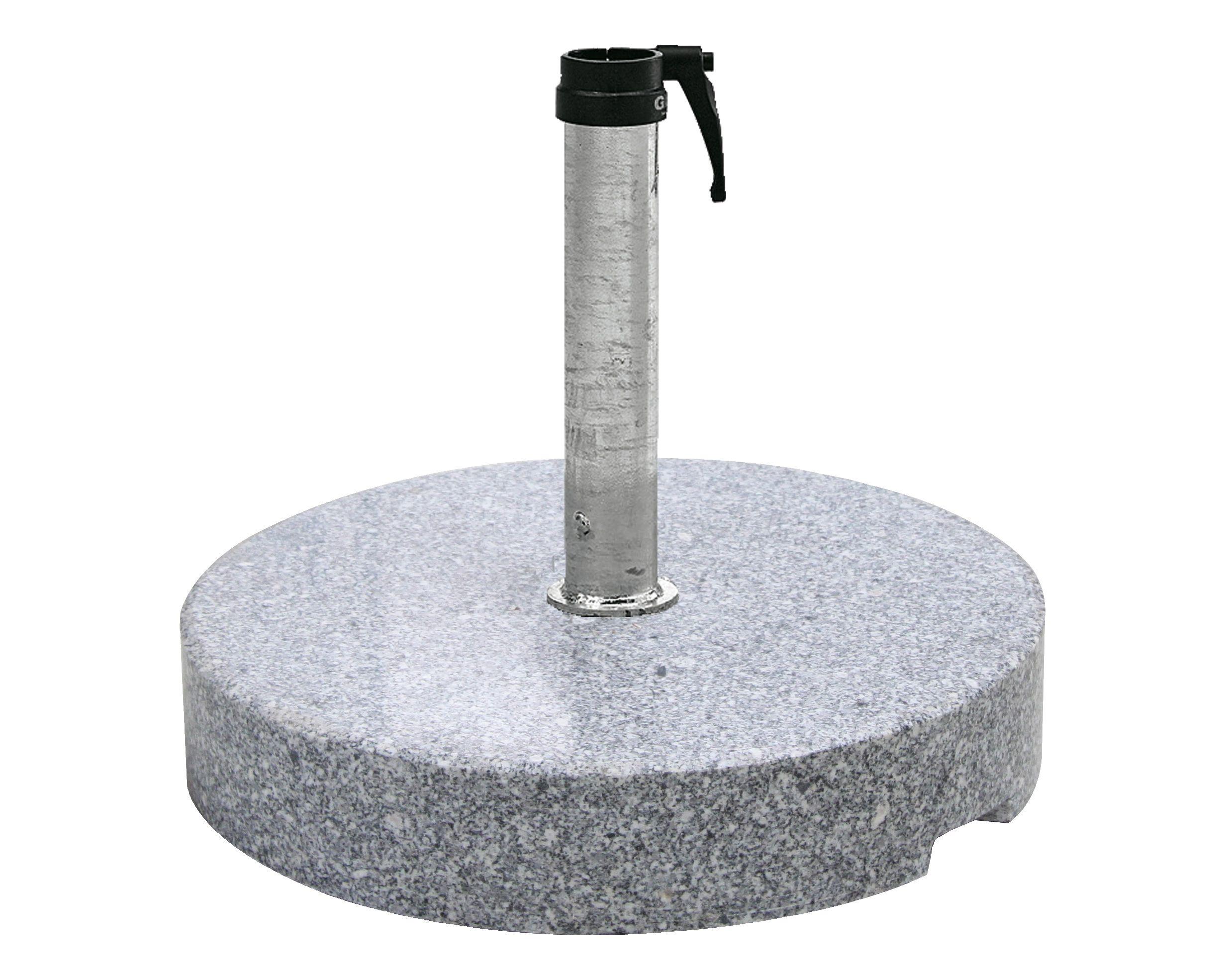 Schirmständer Granit, 90 kg, verzinkt