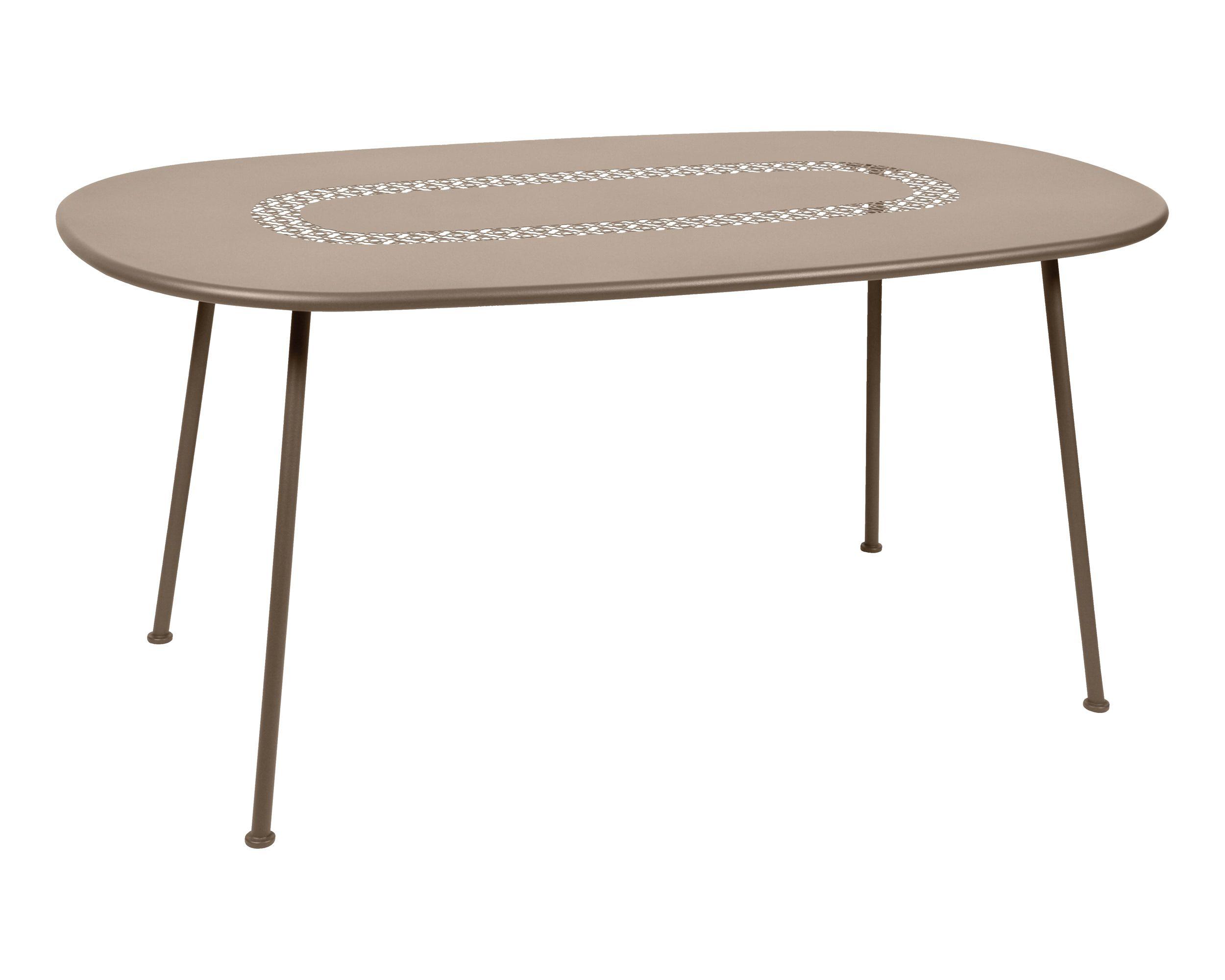 Tisch Lorettte, 90x160cm, oval