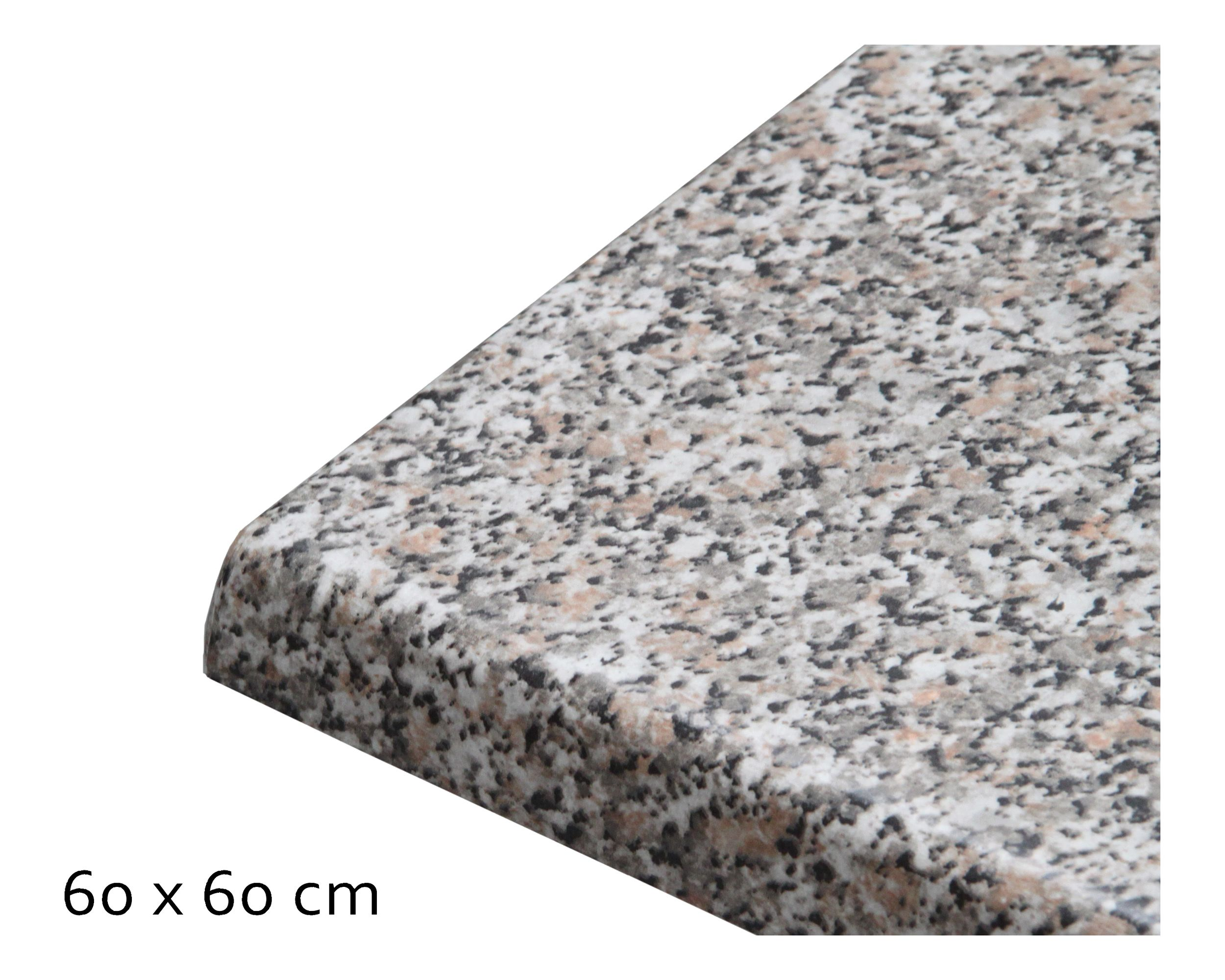 Tischplatte Topalit Standard, 60x60 cm