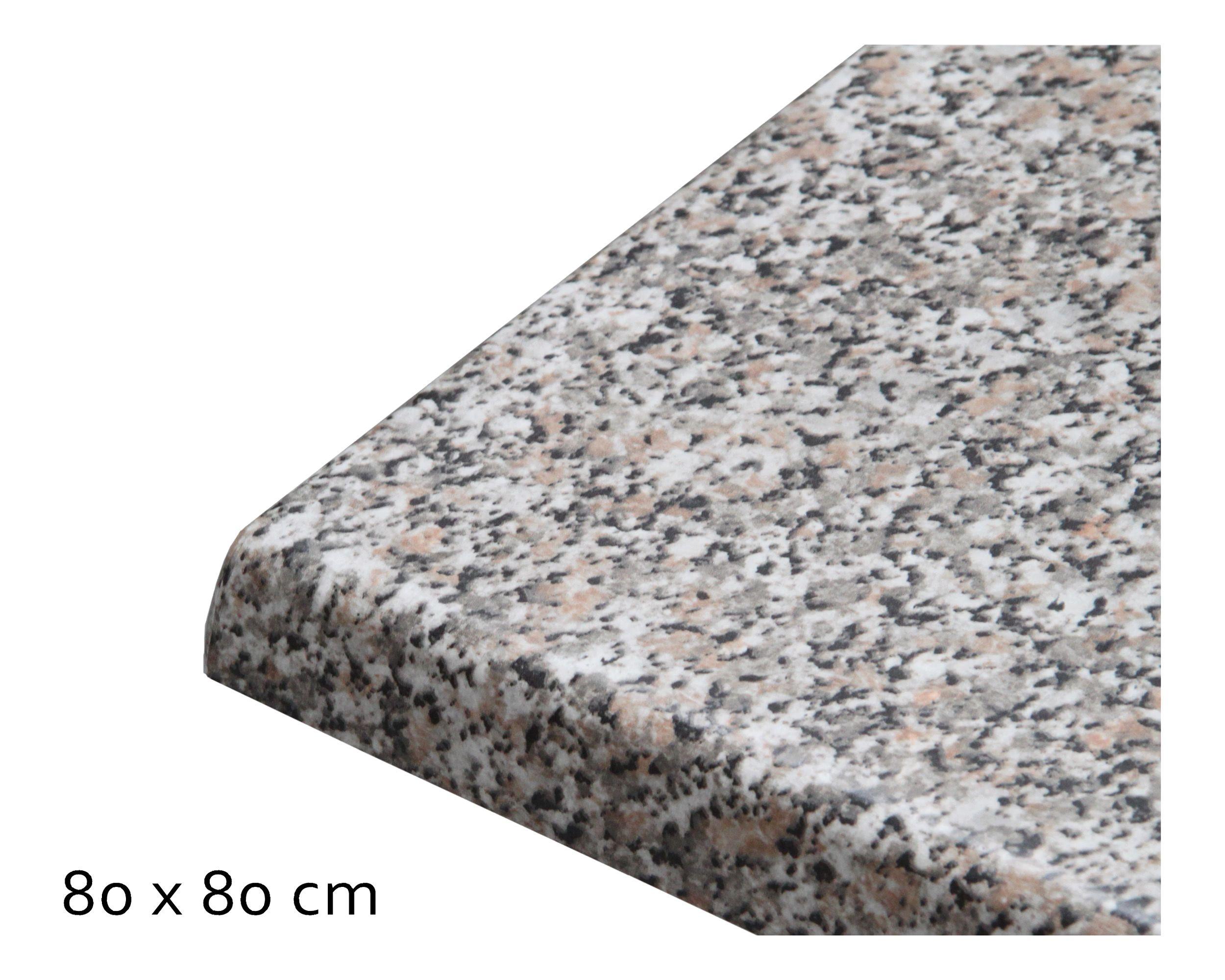 Tischplatte Topalit Standard, 80x80 cm