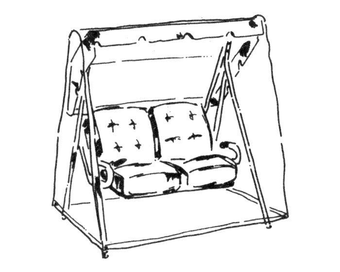 Schutzhülle Schaukel Balkon - Schutzhüllen - Aufbewahrung - LIVING