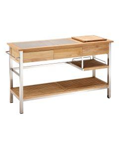 Blaha Gartenmöbel - Küchenwagen, Sideboard Xina ohne Bar-Aufsatz (AC-SP4098)