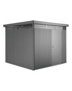 Blaha Gartenmöbel - Gerätehaus HighLine 4, Standardtüre (GG-BH83050_CFG022884)