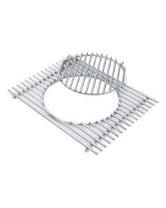 Blaha Gartenmöbel - Weber® Gourmet BBQ System-Grillrost mit Grillrosteinsatz für Summit 600-Serie (GR-WB07585)