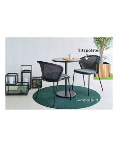 Blaha Gartenmöbel - Sitzpolster für Stapelsessel Louis (PO-CL8560-01_CFG103185)