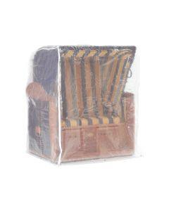Blaha Gartenmöbel - Schutzhülle für Strandkorb 2-Sitzer, transparent, 125 x 110 x 156 cm (BxTxH) (SC-MS0149)