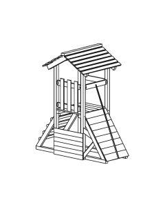 Blaha Gartenmöbel - Spielkomb. Atlantis 100 (SP-FF19400)
