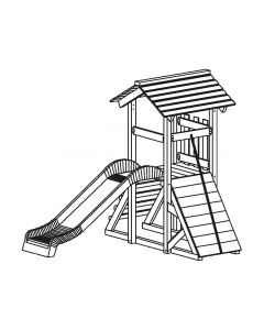 Blaha Gartenmöbel - Spielkomb. Atlantis 110 (SP-FF19410)