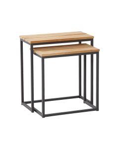 Blaha Gartenmöbel - Beistelltisch-Set Twin, rechteckig, groß (TI-FS7796)
