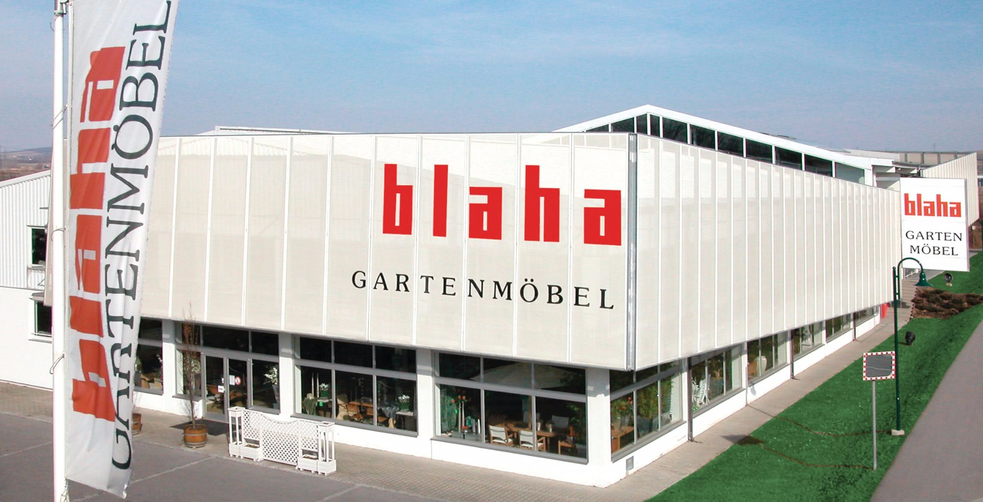 Blaha Gartenmöbel Firmenfoto